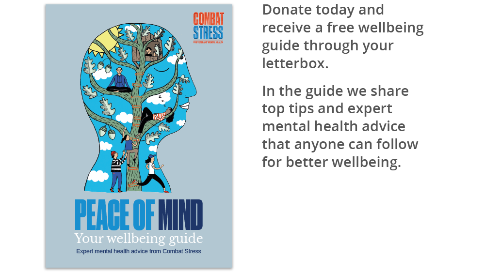 Combat Stress free wellbeing guide
