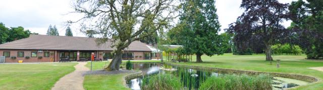 Tyrwhitt House garden