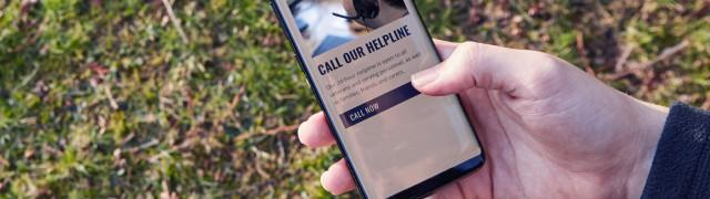 Combat Stress 24-hour Helpline