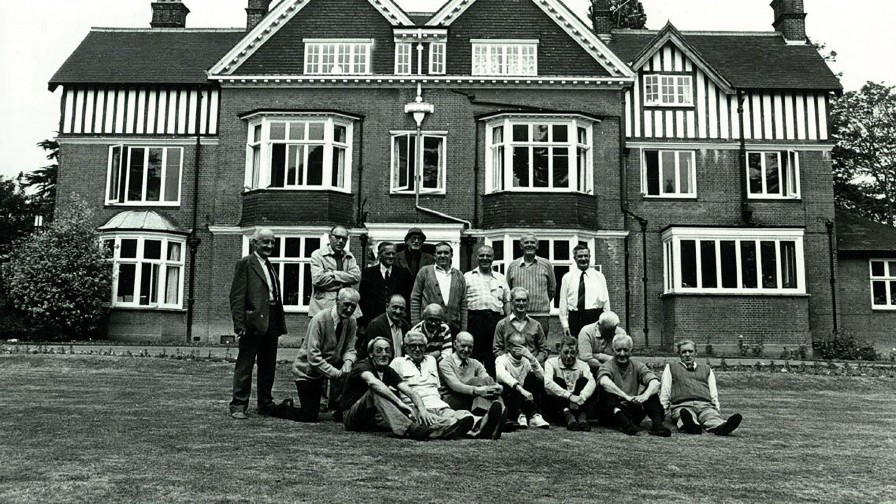Veterans at Tyrwhitt House circa 1970s