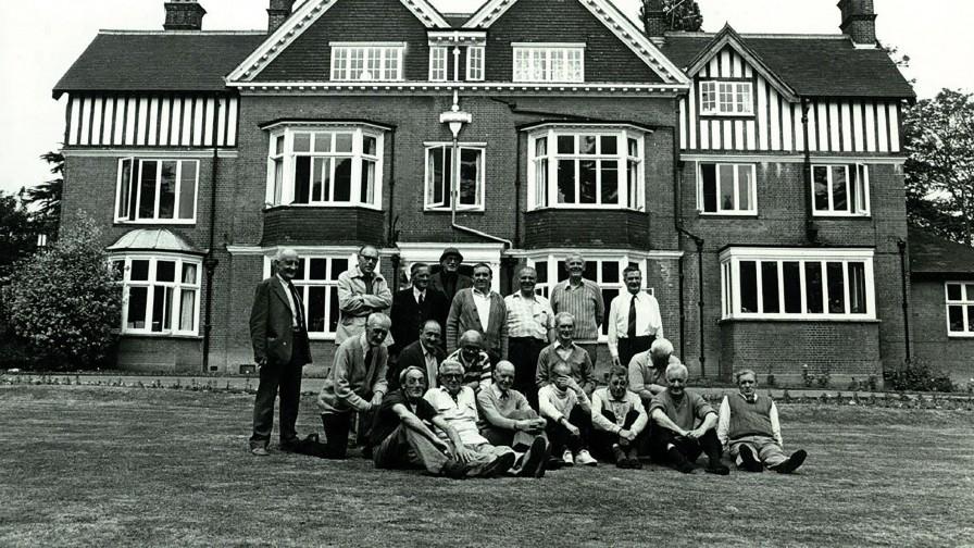 Veterans at Tyrwhitt House circa 1970s