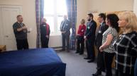A veteran room at the Combat Stress treatment centre, Scotland