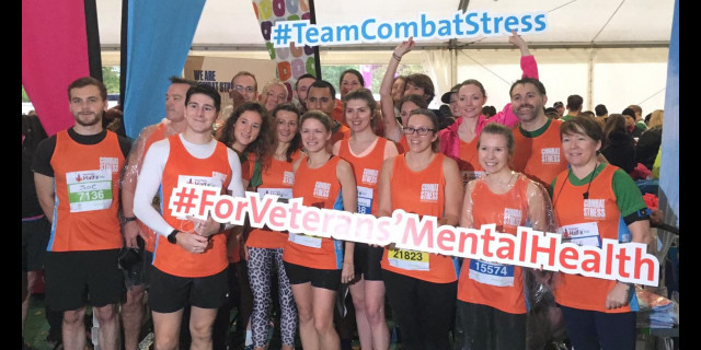 Royal Parks Half marathon 2010 - Combat Stress