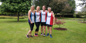Team take part in Cotswold 24 Hour endurance race