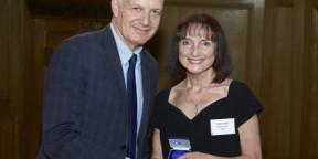 Art Psychotherapist presented with Churchill Medallion