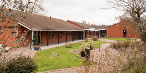 Covid-19 vaccination centre opens at Audley Court