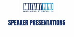 Military Mind 2018 London Speaker Presentations