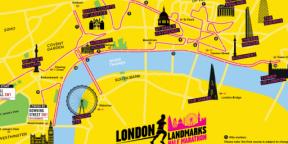 London Landmarks Half Marathon