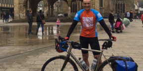 Fundraiser cycles over 500 miles to reunite his Grandparents