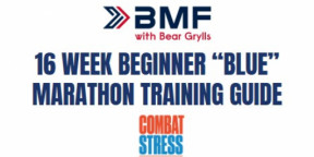 "BMF 16 week Beginner ""Blue"" Marathon Training Guide"