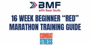 BMF 16 week Intermediate RED Marathon Training Guide