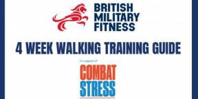 BMF 4 Week Walking Plan