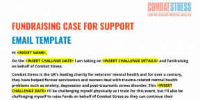 FUNDRAISING CASE FOR SUPPORT