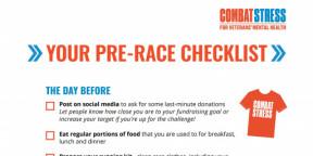 YOUR PRE-RACE CHECKLIST