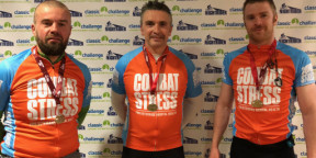Peer Support co-ordinator for Scotland finishes first in Nightrider Glasgow
