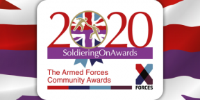 Veteran and pet therapy dog duo recognised as Soldiering on Award finalists