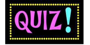 Hold a    virtual quiz