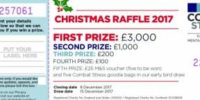 Christmas raffle winners announced